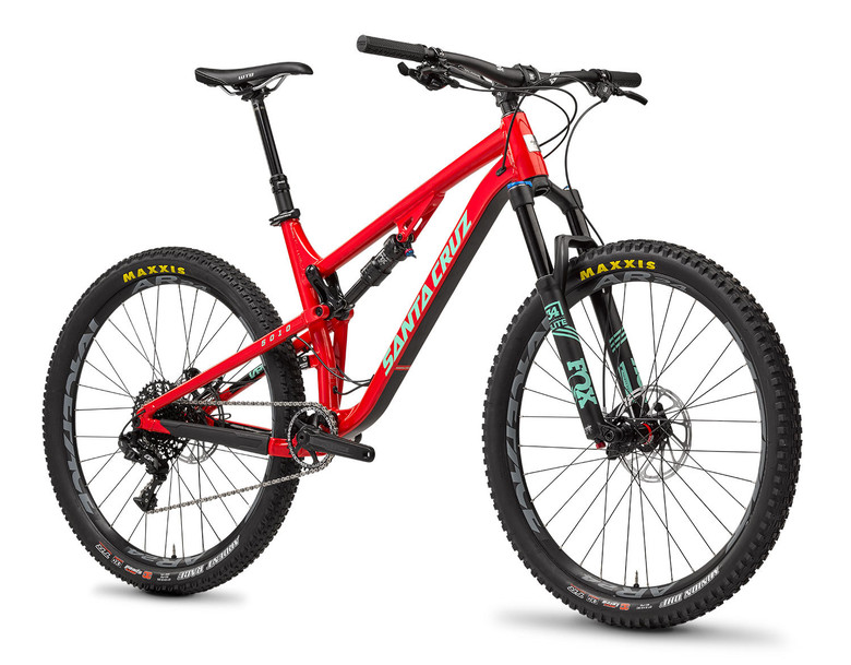 The aluminum Santa Cruz 5010 with D Kit can be had for just $2,599.
