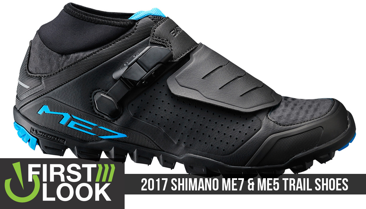 0e6631a29f9 First Look: Shimano ME7 and ME5 Trail Shoes - Mountain Bikes Feature ...