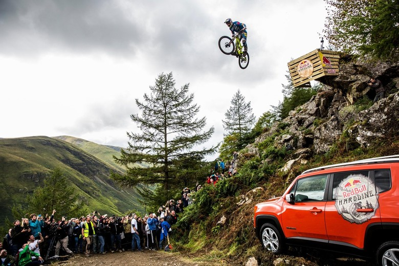 Al Bond sending the road gap in 2015 - photo Sven Martin