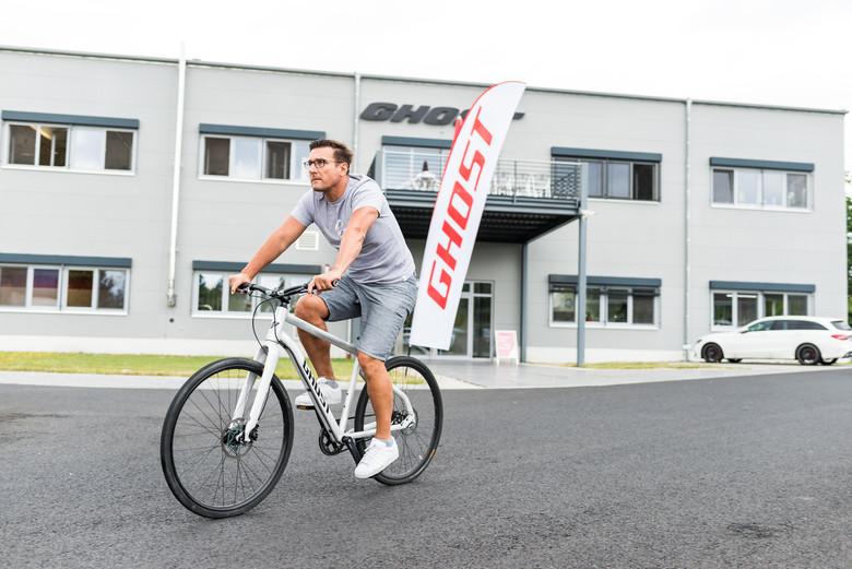 Uwe Kalliwoda, co-founder and CEO of Ghost Bikes.