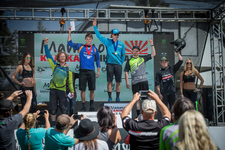 Brian Lopes took first in Pro Men Sunday, followed by Evan Geankoplis, Kyle Warner, Cole Picchiottino, and Tom Doran. Photo: Called to Creation.