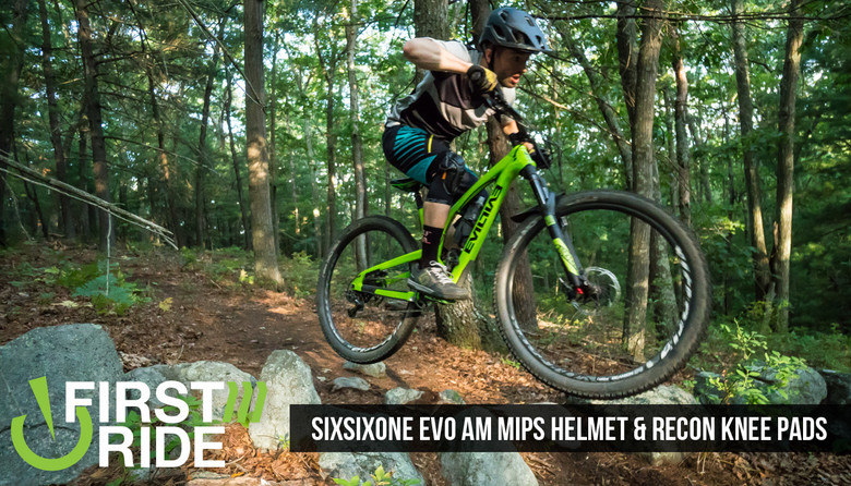 First Ride Sixsixone Evo Am Mips Helmet And Recon Knee