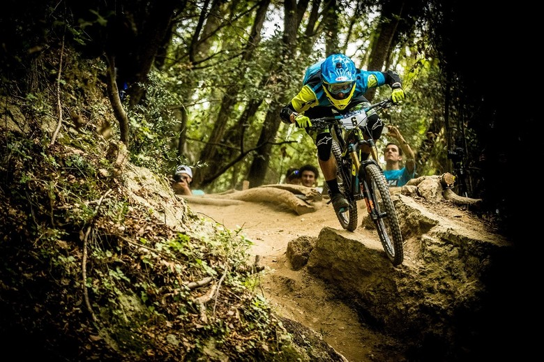 Maes was fully pinned since stage 1 on day 1 - photo Sven Martin
