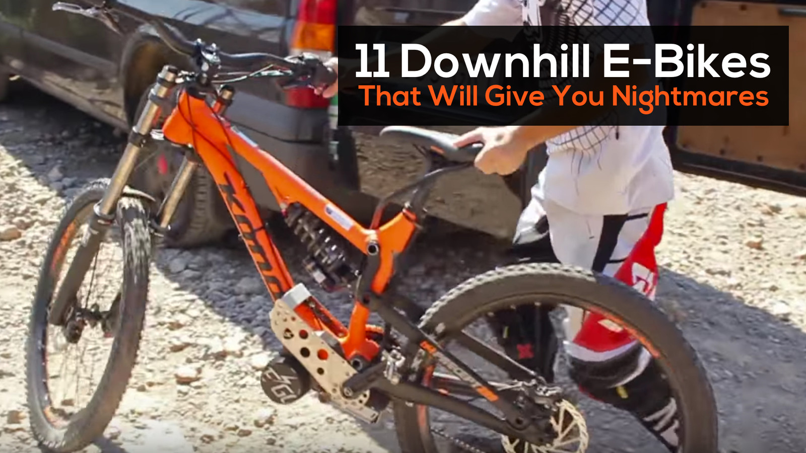 11 Downhill E-Bikes That Will Give You Nightmares - Mountain Bikes ...