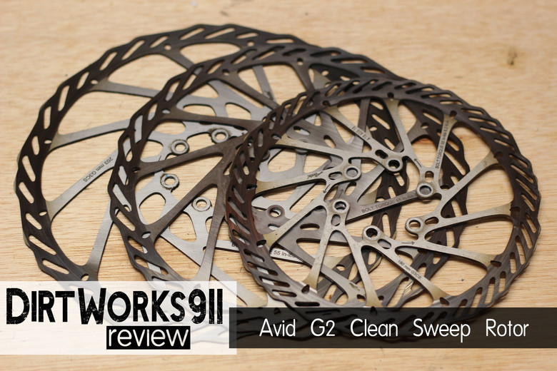 Avid G2 Clean Sweep 180mm Rotor