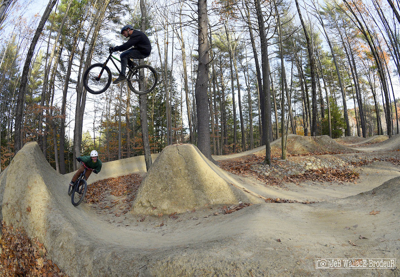 It goes without saying that Highland's dirt jumps, some of the most beautifully sculpted and maintained anywhere, were also in prime condition.