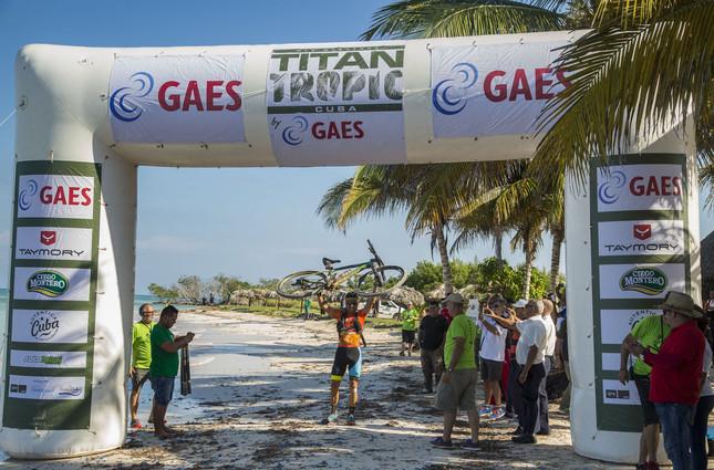 Diego Tamayo wins 2016 Titan Tropic Cuba by Gaes