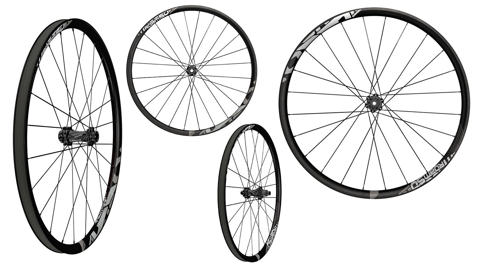 4e69792b4f0 New SRAM MTB ROAM 50 Wheels | Everyday Carbon Champ - Mountain Bikes ...