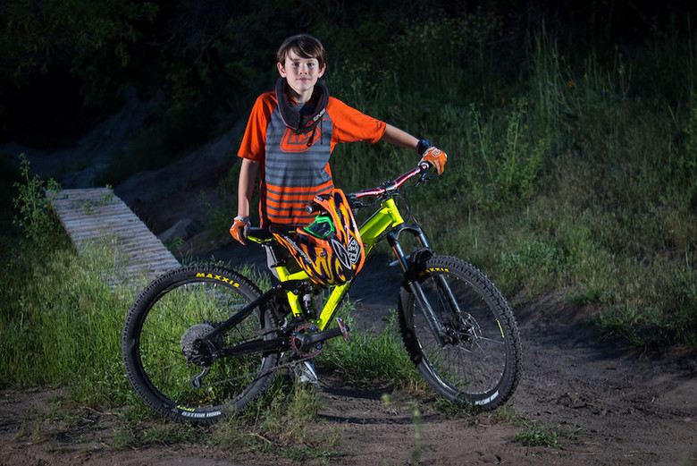 Weston with his new Norco Fluid 4.2