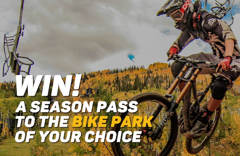 Win a 2017 bike park season pass - sign up to the PRO Pass before May 14th!