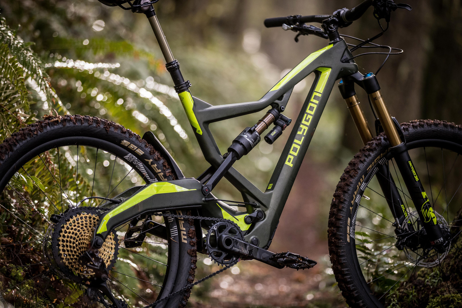 First Look Polygon Square One EX Series Bikes