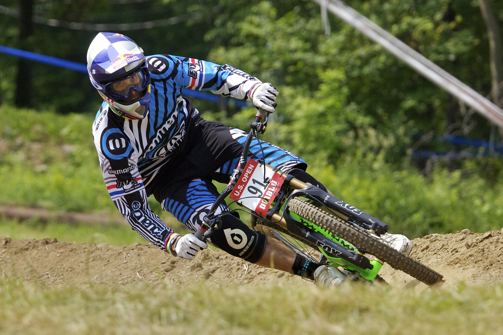 Gee Atherton at the last US Open.