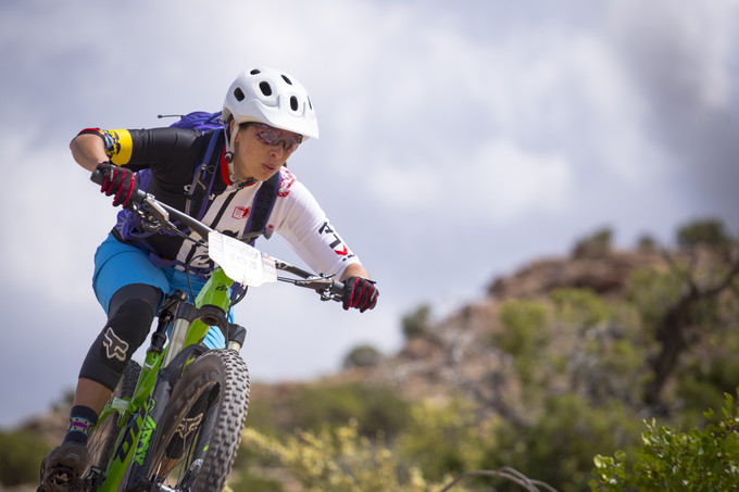 Angelica Ramirez dominated in the Women's Pro/Open category at last season's Deer Valley race. Ramirez has saddled up for a full season of pro racing.