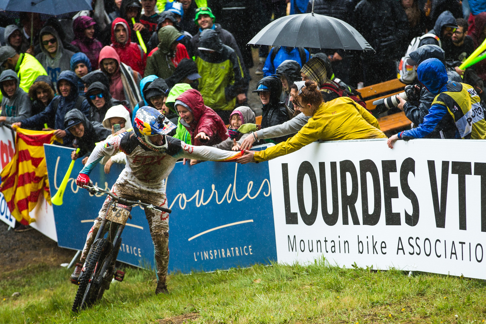 Loic Bruni didn't win, but he certainly lost graciously.