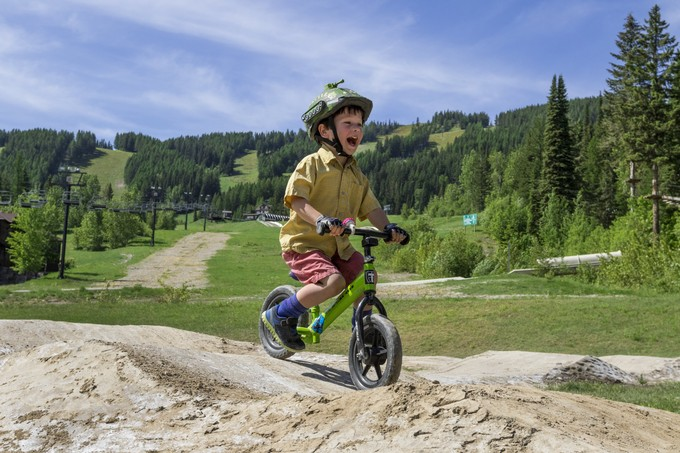 The Whitefish Bike Park is making strides with the new Strider Bike Park