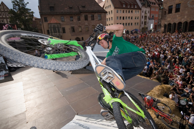 Aaron Chase back in 2006 at Red Bull District Ride