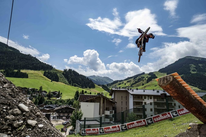 Simon Pages at GlemmRide Slopestyle