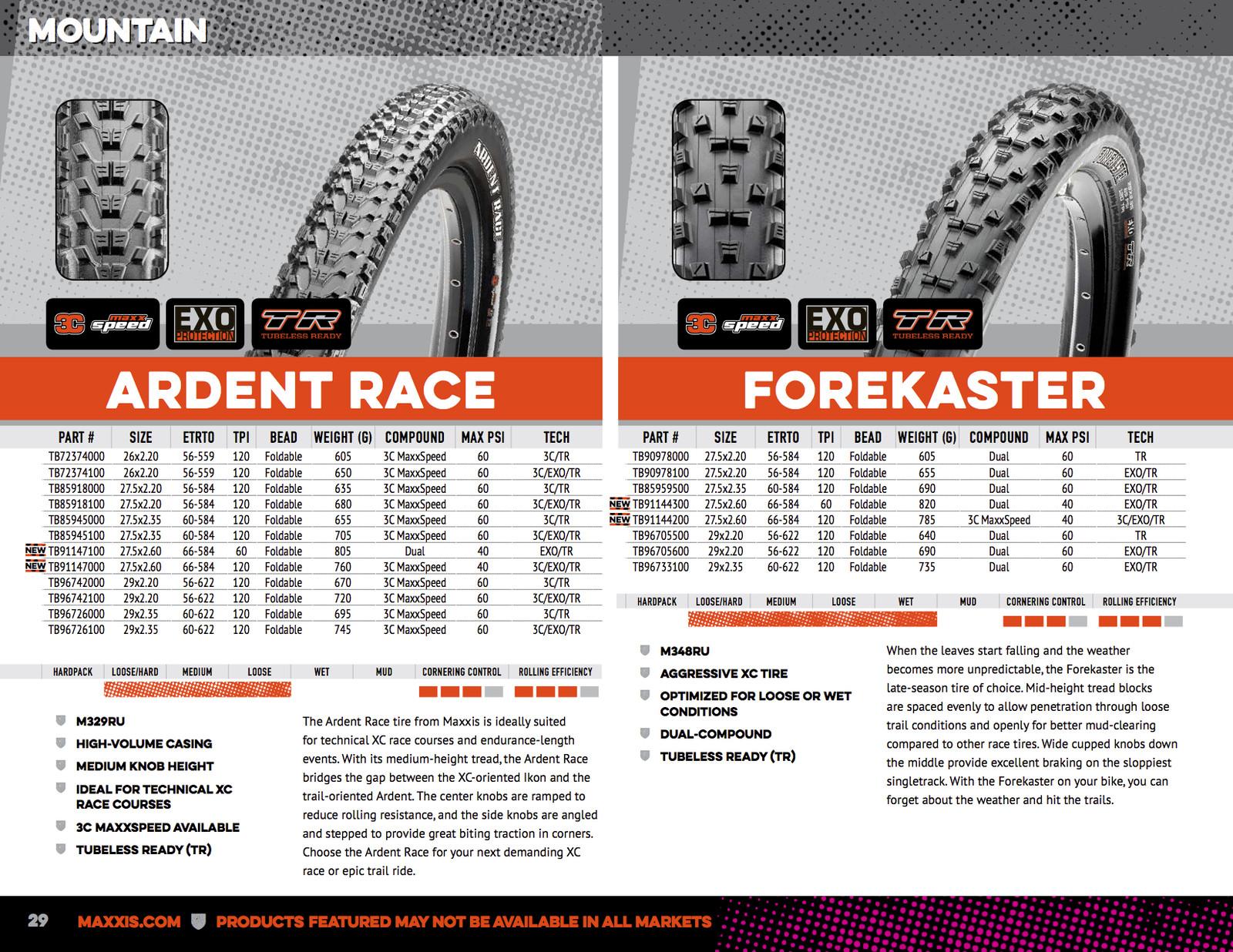 29in 3C Maxx Terra//EXO//TR Maxxis Mountain Bike Tire Minion DHF 29x2.3