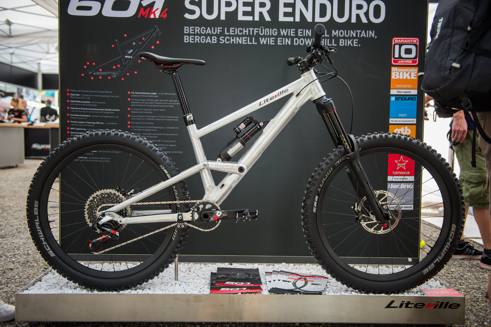 Liteville 601MK4 Super Enduro bike.