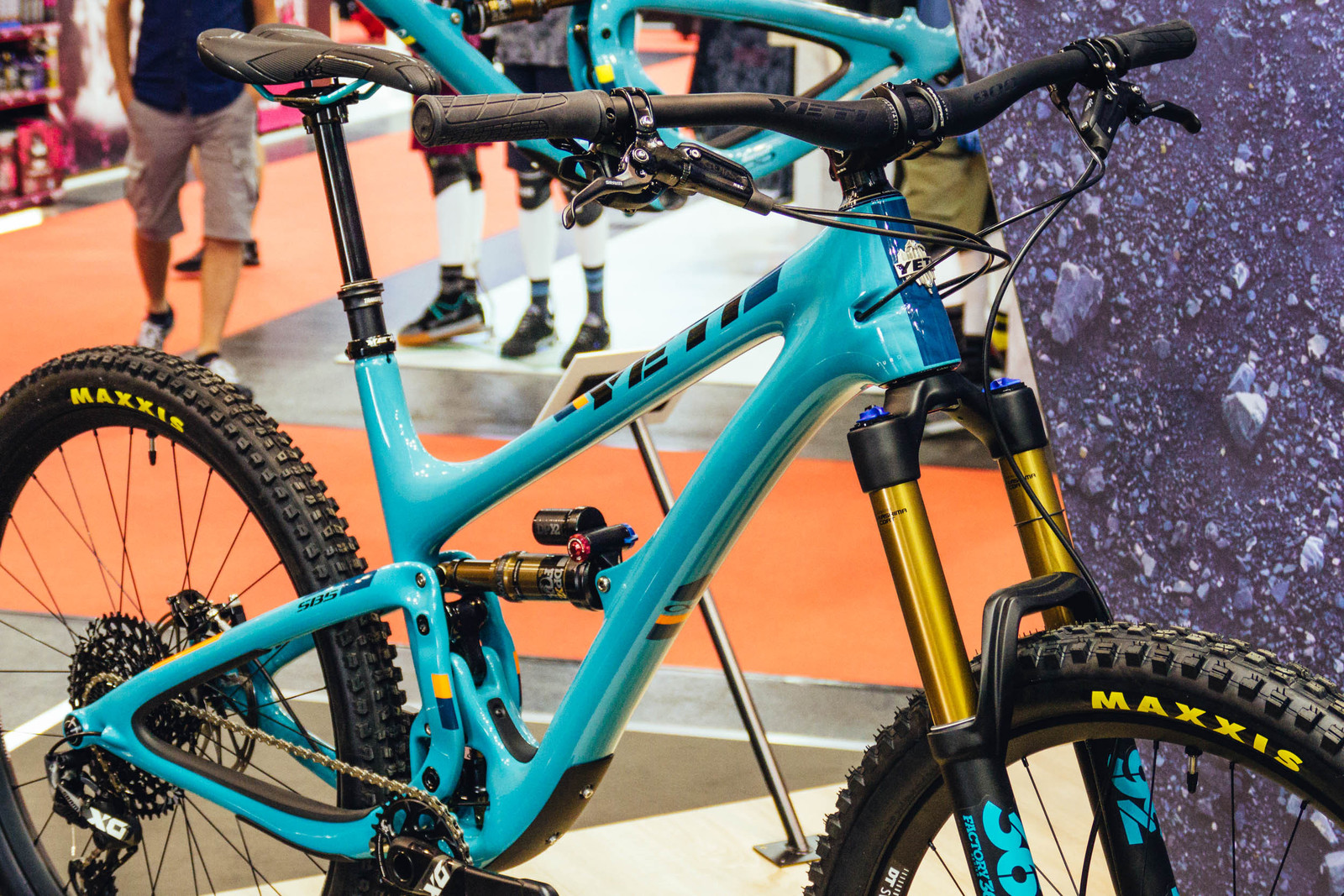 2266f0be8 The new Yeti SB5 LR is modeled after the bikes the company shred during  their lunch rides