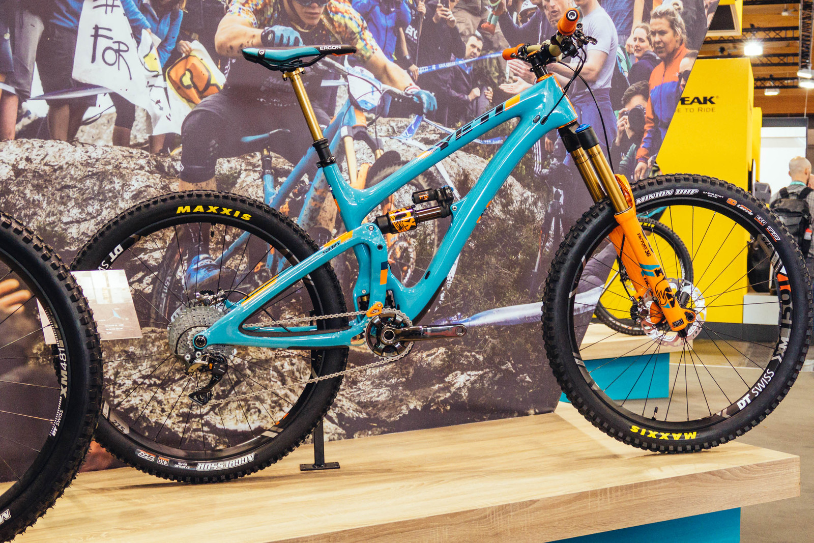 61be7d28a New for 2018 Yeti is producing a limited run of 125 team replica bikes. The  SB6 s are modeled after what Richie Rude and the Yeti enduro squad run on  the ...