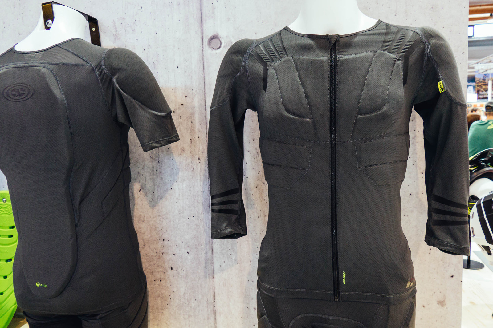 iXS has also updated their upper body armor to include similar materials.  These vests and jackets features an Xmatter spine protector which is  EN-1621 ... 39c86a0e6