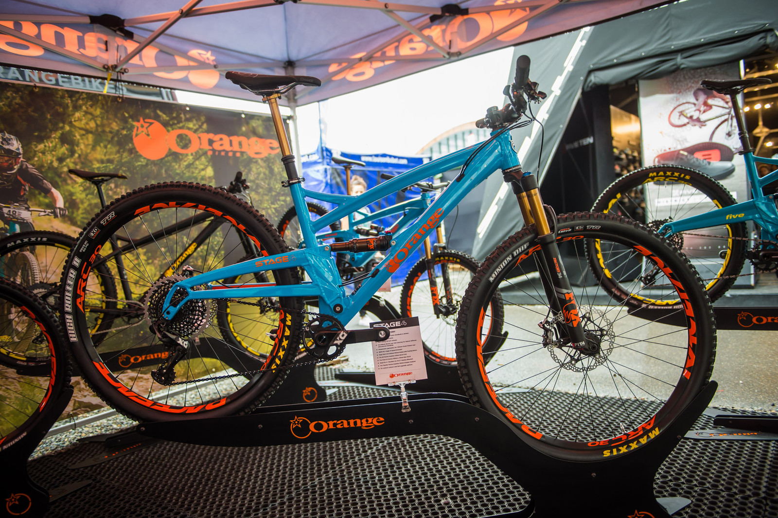 29Er Mountain Bike >> Orange Stage 4 29er and Strange DH29 Prototype - Mountain ...