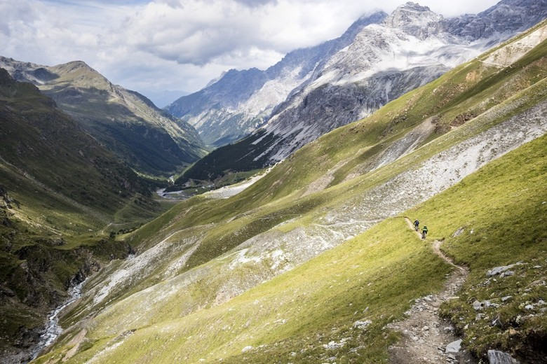 The Zebrù pass is one of the world's highest mountain passes - a biking experience to remember!