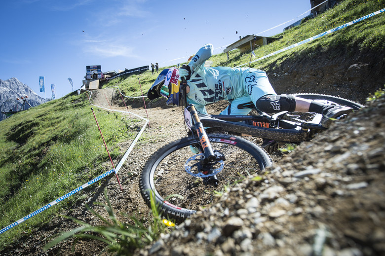 Tahnée Seagrave – Winner UCI Mountain Bike Downhill World Cup in Leogang 2017