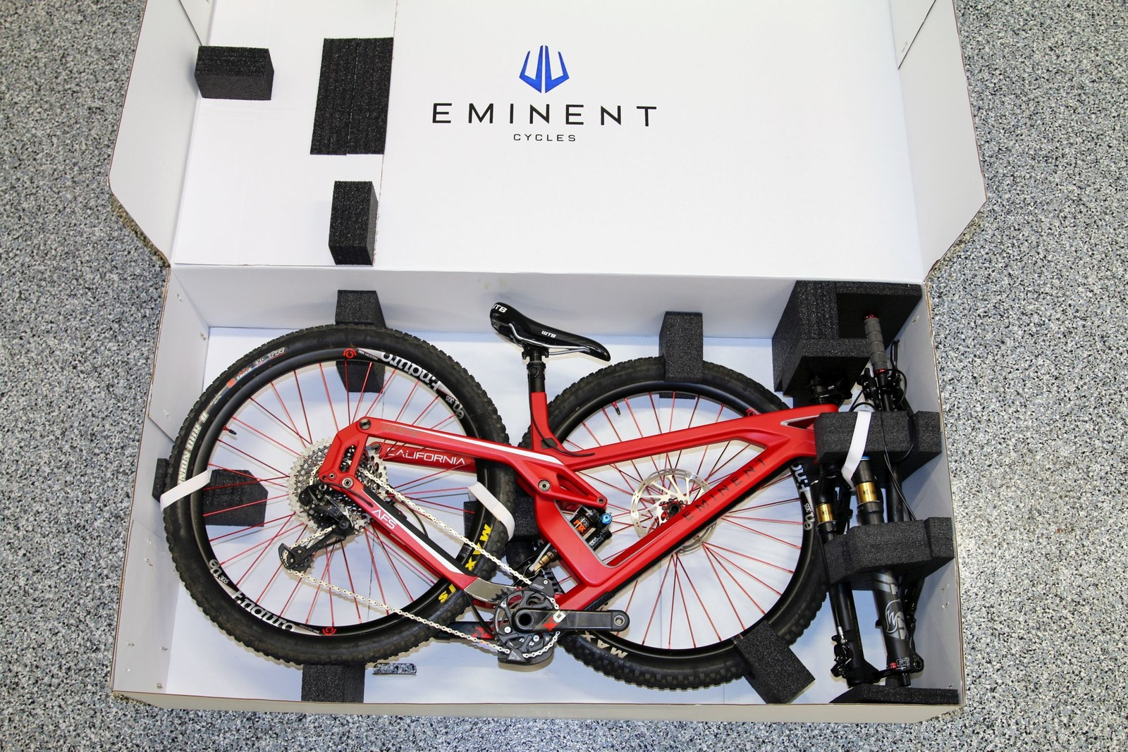 First Look: Eminent Cycles Haste - Mountain Bikes Feature Stories