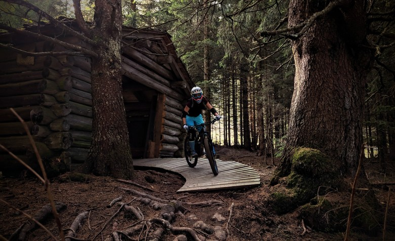 Anna's favorite trail: 'Tschaklin' at Brandnertal