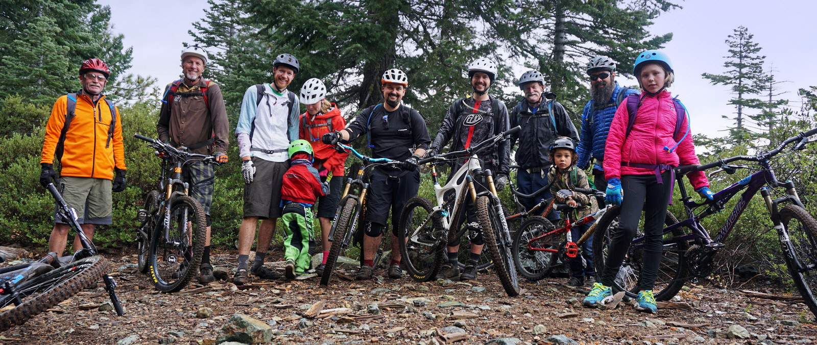 Riders of all ages and skill levels can enjoy Mills Peak Trail.