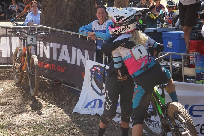 Tracey Hannah secures her 10th National Champs victory. Incredible.