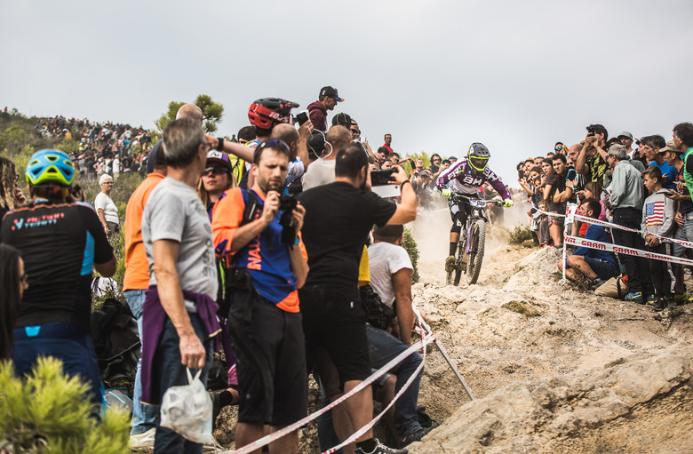 José at the EWS Finale Ligure 2017.