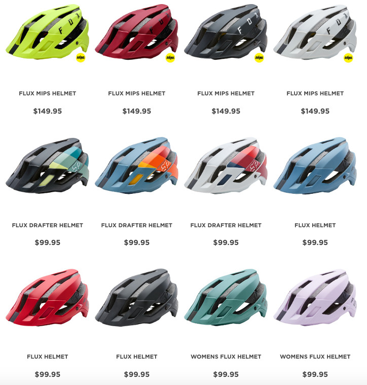 First Look  2018 Fox Flux Trail Helmet - Mountain Bikes Feature ... ff9a80617dd56