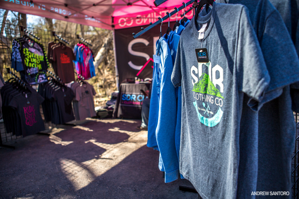 SDR Clothing is back on board this year, helping us out with killer MAXXIS ESC t-shirt designs and selling many of their other designs in the race pits. Stop by at the next race and pick up some new shirts!