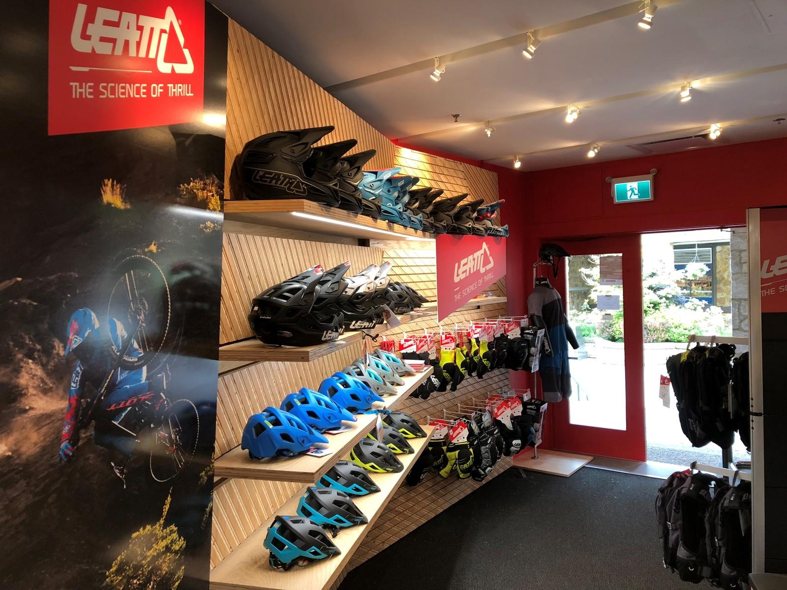 Leatt concept store in Whistler Village