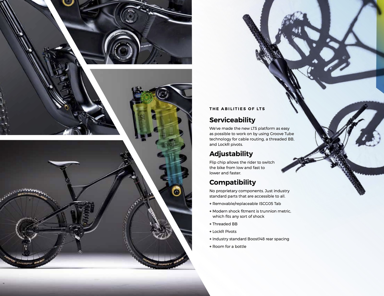 """d96e79a3a36 """"These bikes were designed around our updated LTS platform without using  any proprietary components,"""" said Cait Dooley, GT Bicycles Global Director  of ..."""