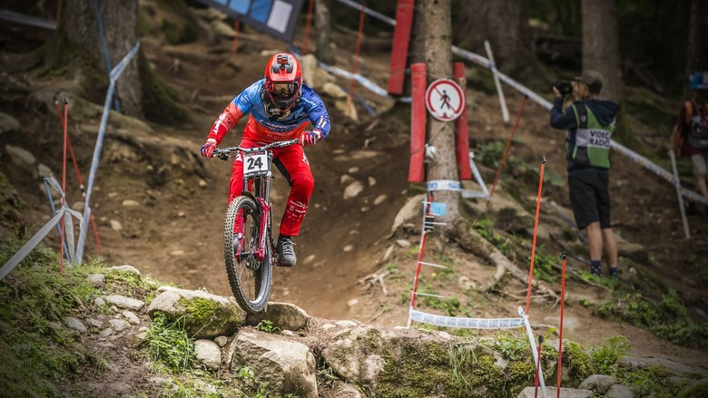 Joe had a super fast top section, but fatigue cost him some time in the lower part of the course. Nevertheless, 'it was the best I felt here in a long time', he says, finishing in 29th place.