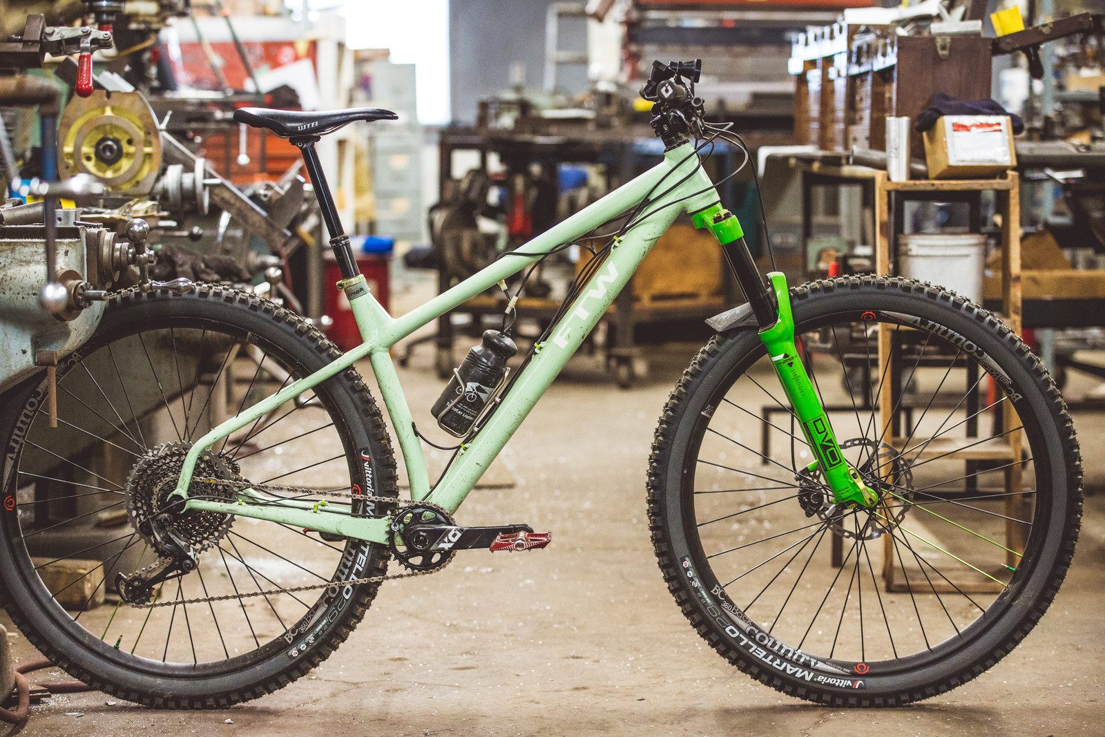 Frank's personal XC bike. It's really light, but really strong - and a 29'er!