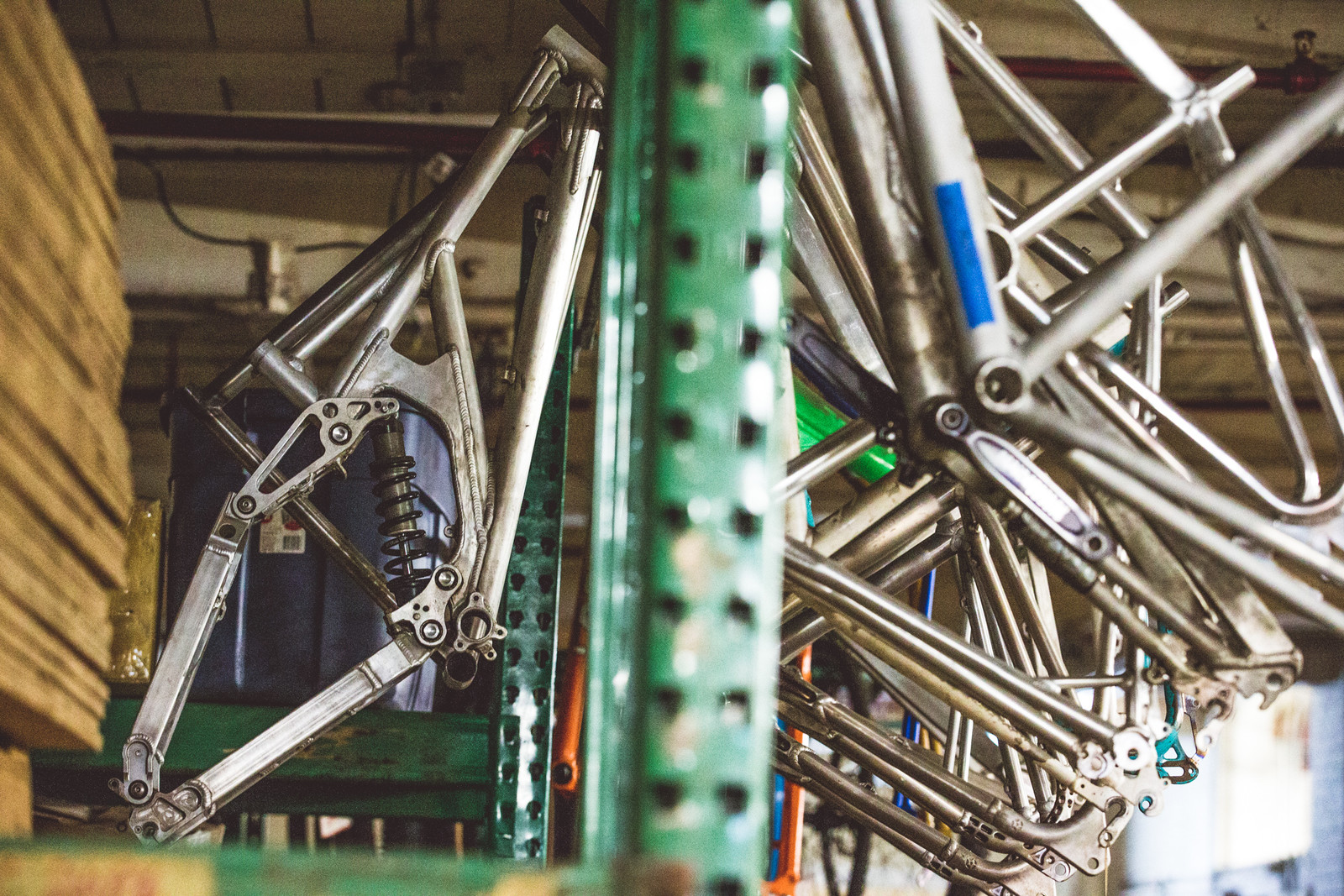High up by the ceiling, covered in machine shop patina, there hangs an innocuous frame... one which has unbound potential, though it sadly never saw production - yet?!