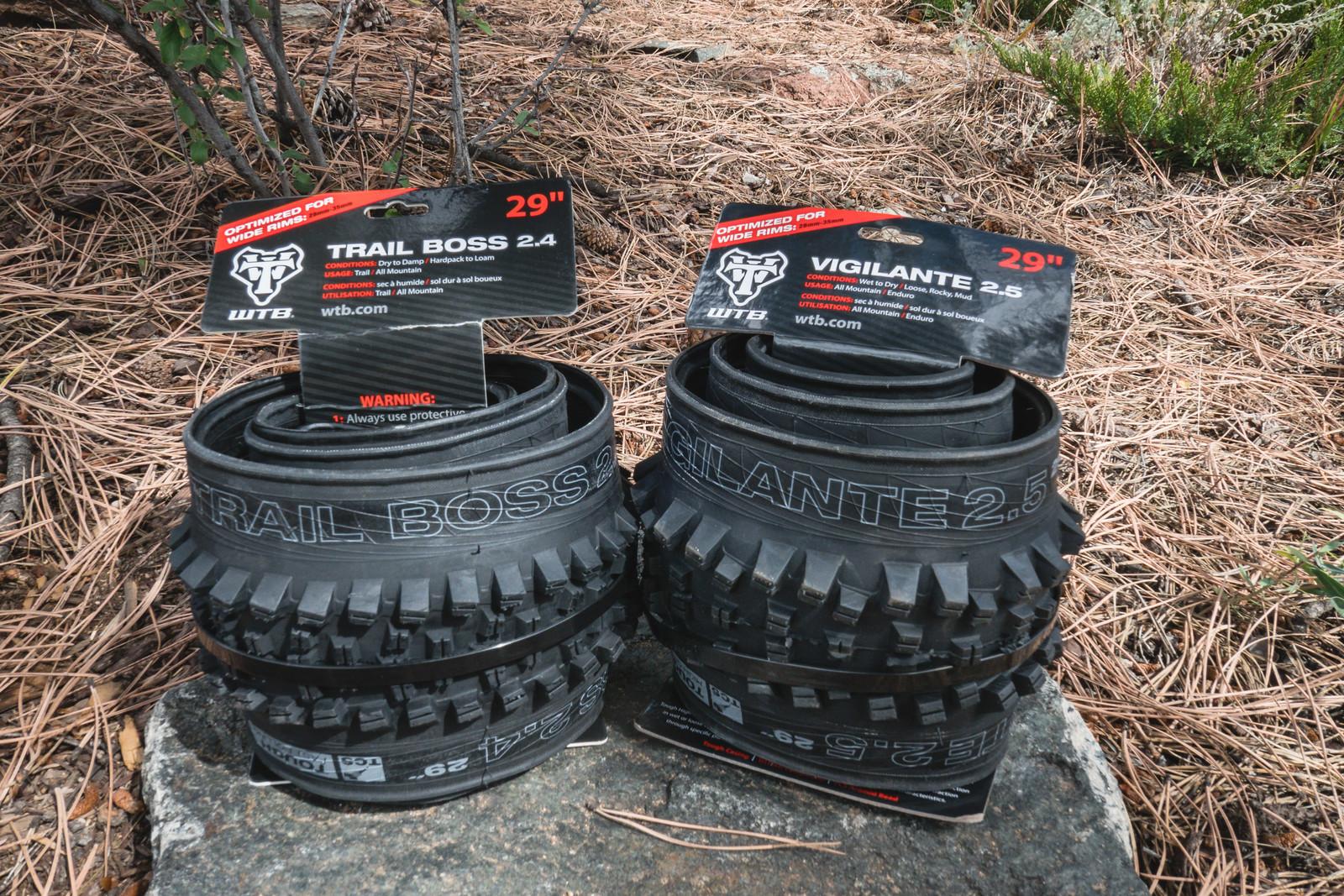 WTB Vigilante 27.5 x 2.5 TCS Light//High Grip TT SG Tire