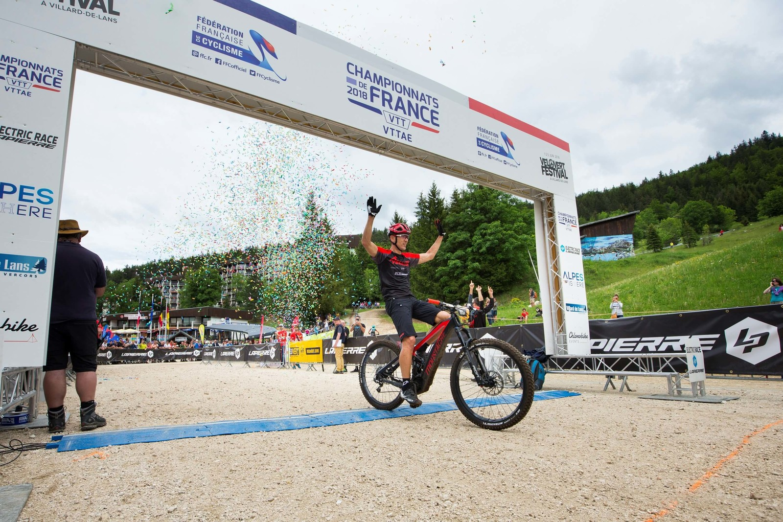 Julien Absalon (FRA), five-time XCO UCI World Champion and double XCO Olympic Champion