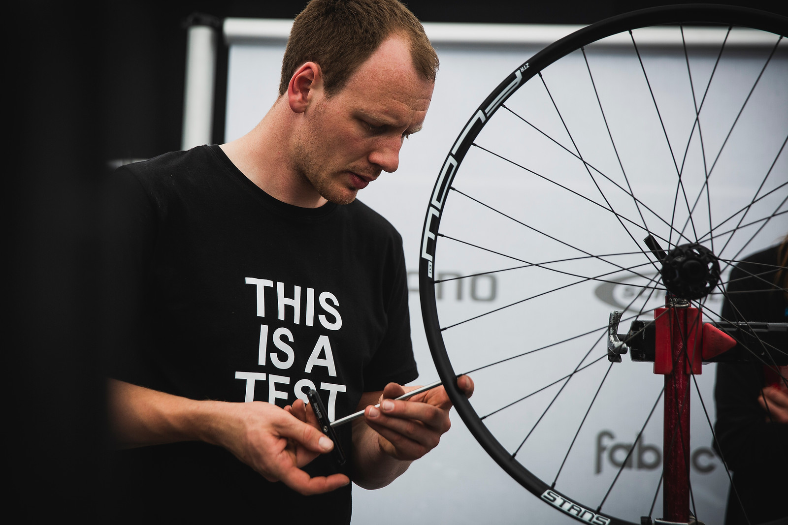Cannondale are making it very clear. IT'S A TEST BIKE.