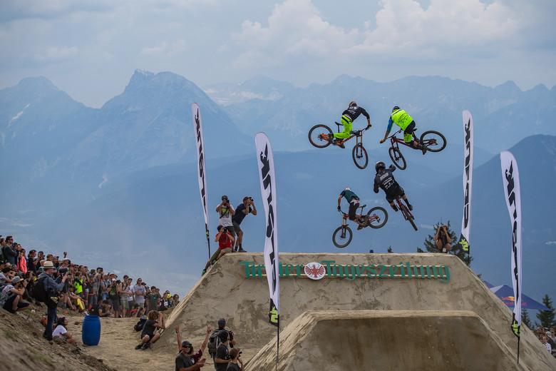 Things are about to get all kinds of sideways above the Austrian Alps