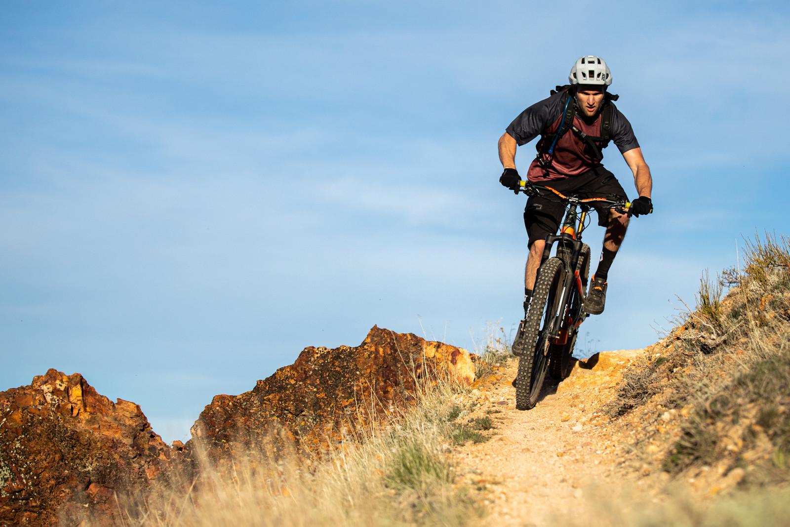 Paul Basagoitia Riding for SR SUNTOUR - Mountain Bikes Press