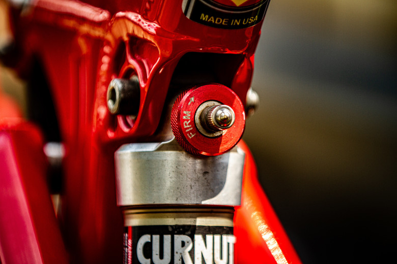 Curnutt XTD with Ti spring.