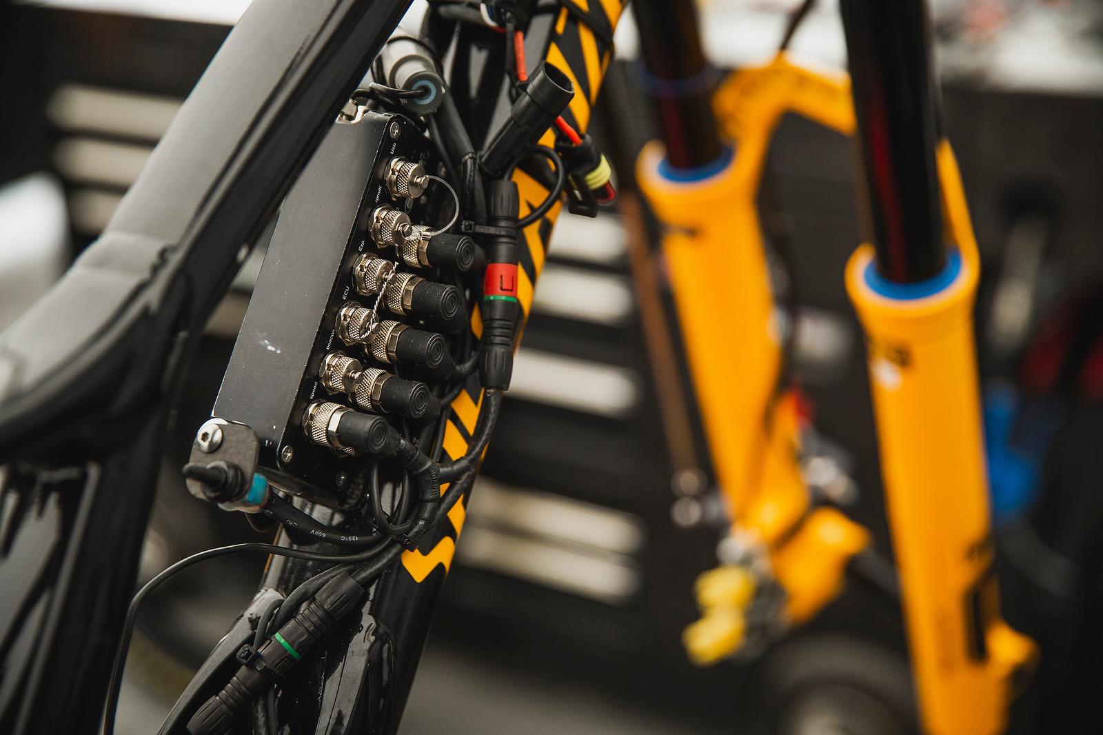 Loic's data acquisition bike.