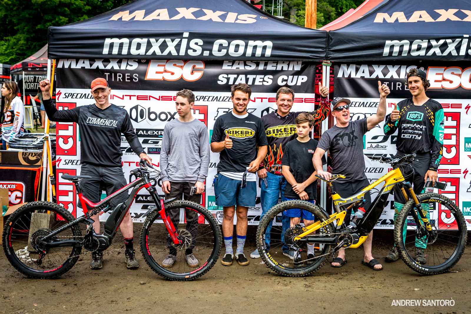 Ask any of these guys how much fun they had at the Ebike race and get out there for the next one, just don't complain when one of them beats you.