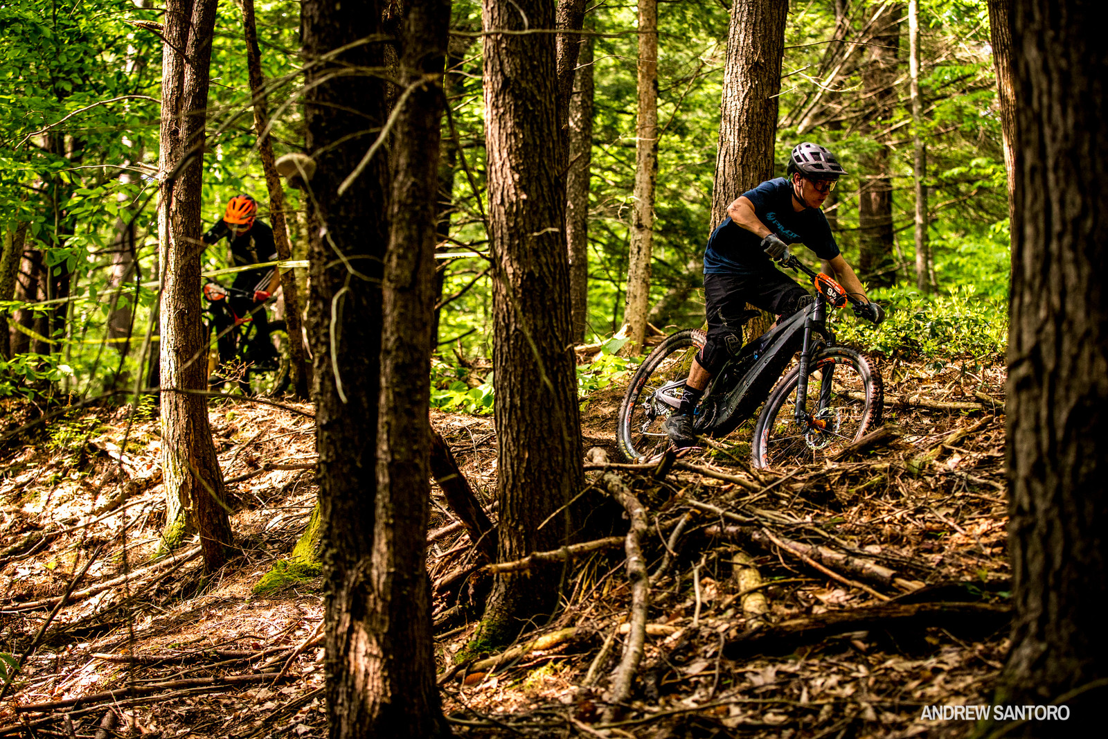 Racers battled it out elbow to elbow on the climbs but after 24 minutes of flat out racing at the Warfield Trails, Nathan Sterckx came out on top and plenty of stories were exchanged with smiles all around at the finish line.
